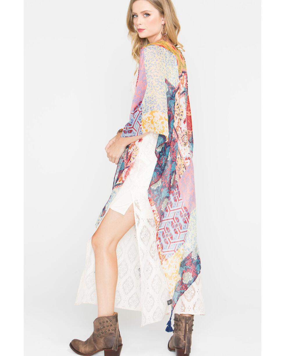 Shyanne Women's Spirit Sheer Blanket Scarf, Multi, hi-res