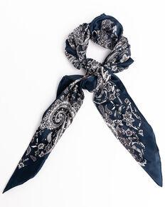 Cody James Men's Silk Black Paisley Bandana , Black, hi-res