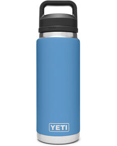 Yeti Rambler 26oz Pacific Blue Chug Bottle, Blue, hi-res