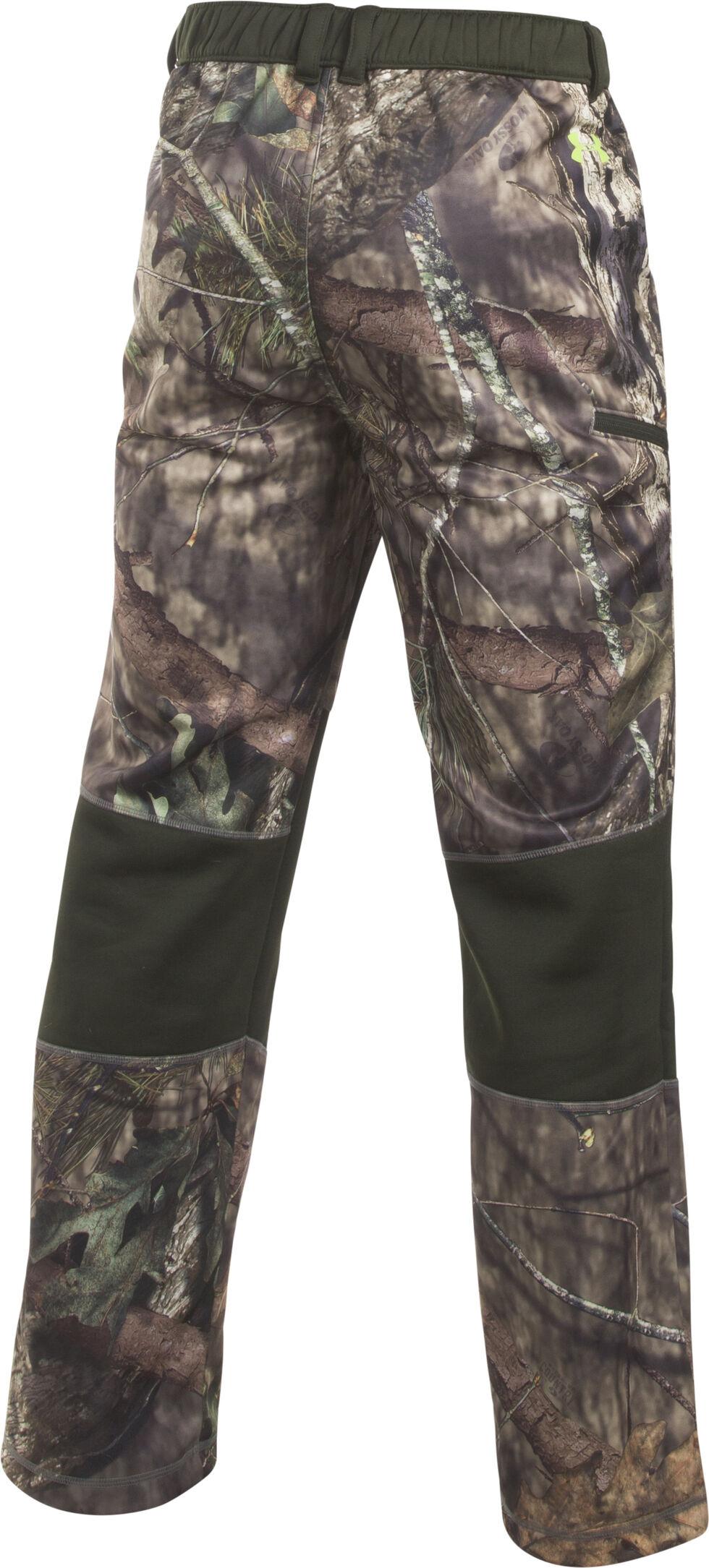 Under Armour Men's Scent Control Armour Fleece Pants, Mossy Oak, hi-res
