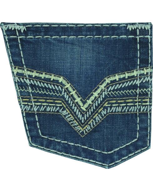 Wrangler Rock 47 Men's Conga Slim Fit Jeans - Straight Leg, Indigo, hi-res