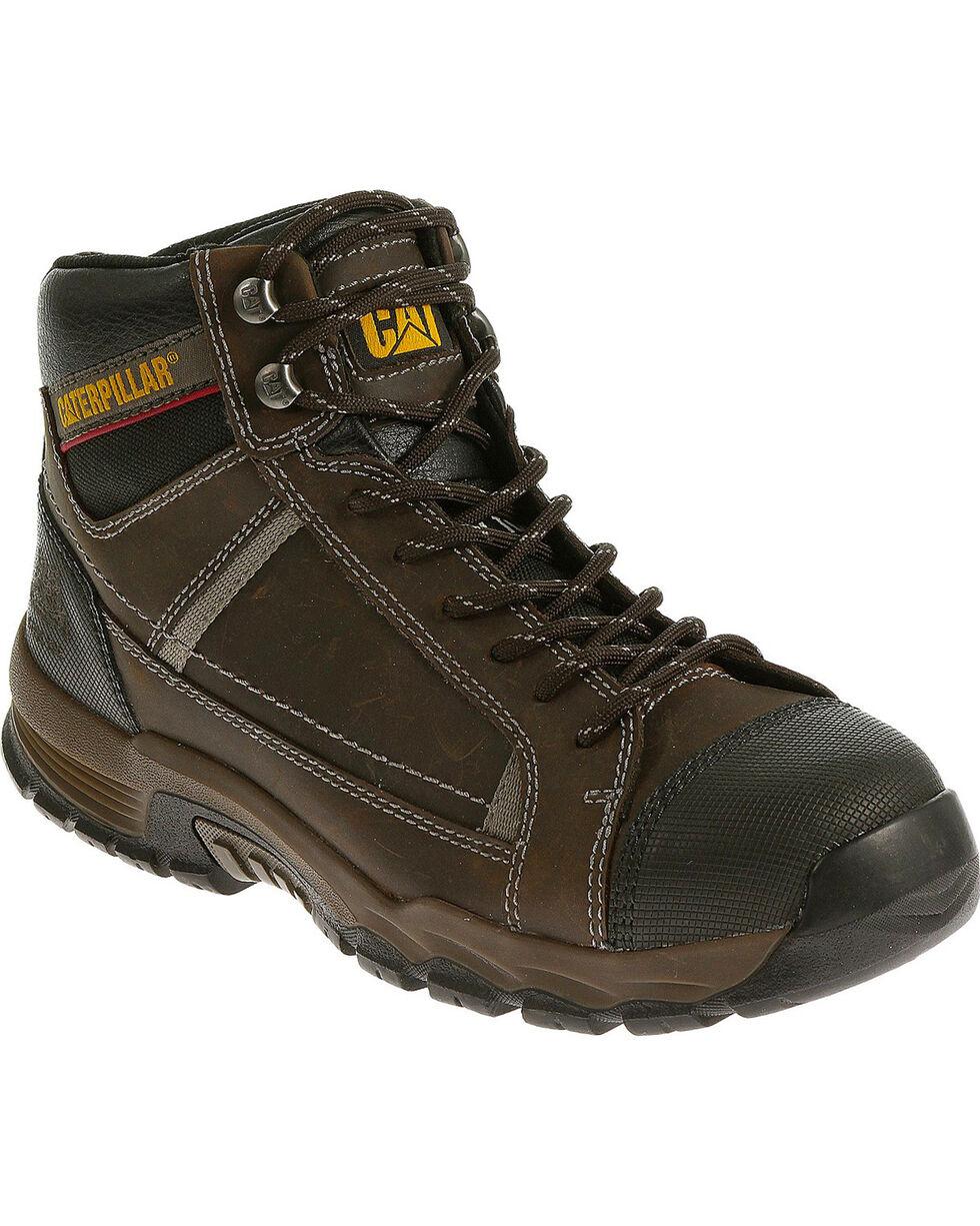 Caterpillar Men's Brown Regulator Work Boots - Steel Toe , Brown, hi-res