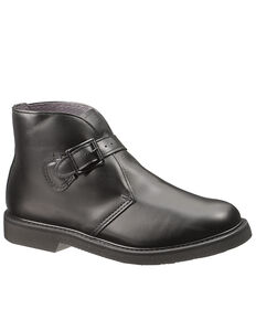 Bates Men's Buckle Chukka Boots - Round Toe, Black, hi-res