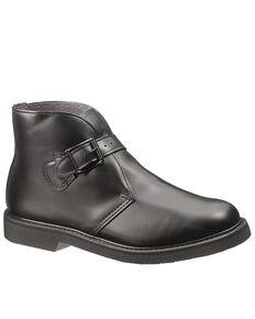 Bates Men's Buckle Chukka Boots - Round Toe, Black, hi-res