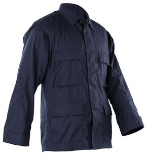 Tru-Spec Men's Navy B.D.U. Coat , Navy, hi-res