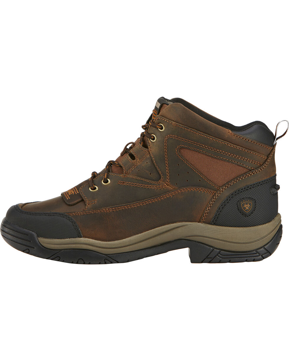 Ariat Men's Terrain Boots - Wide Square Toe, Brown, hi-res