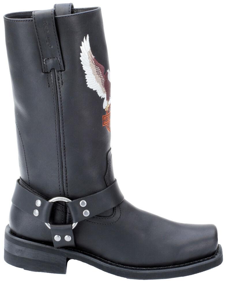 Harley Davidson Men's Darren Harness Boots, Black, hi-res