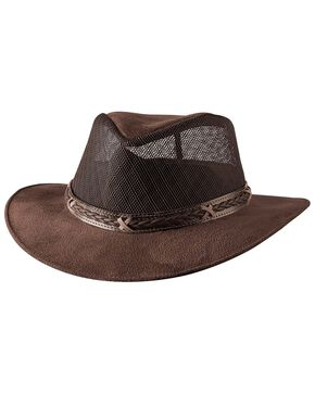 Bullhide Women's Altamont Straw Hat, Chocolate, hi-res
