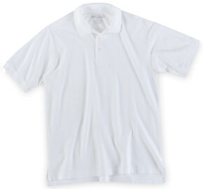 5.11 Tactical Professional Short Sleeve Polo Shirt - 3XL, White, hi-res