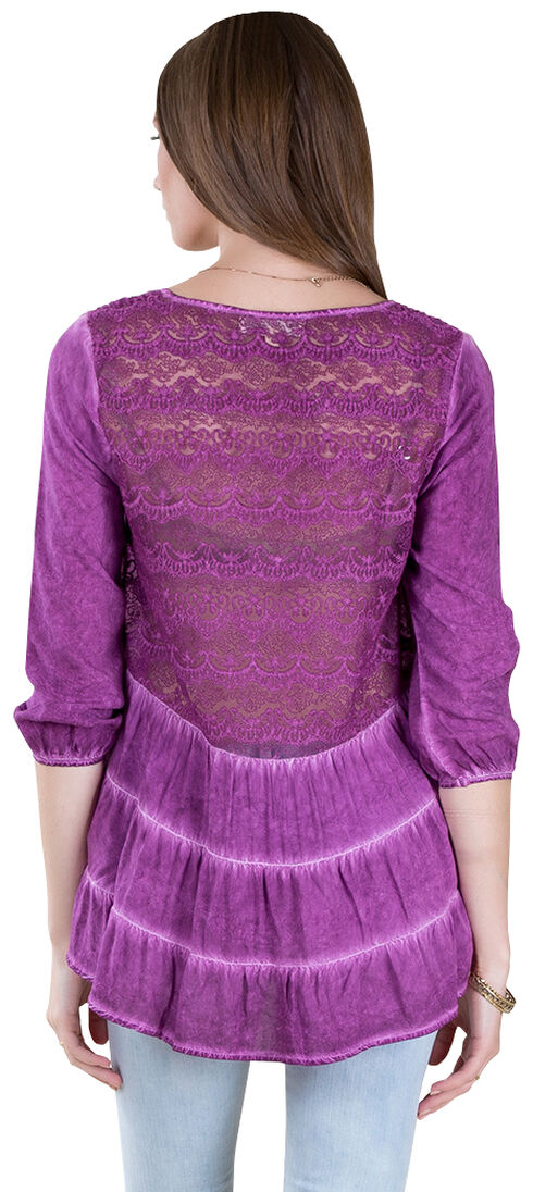 Black Swan Women's Etienne Wild Aster Top, Orchid, hi-res