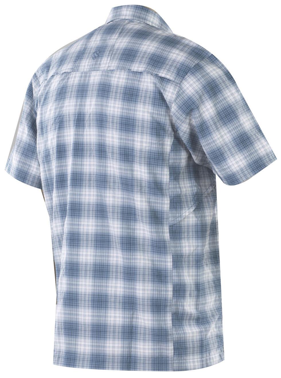 Tru-Spec Men's Blue Plaid 24-7 Cool Camp Shirt , Blue, hi-res
