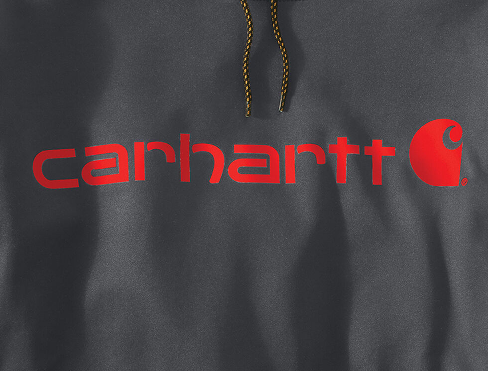 Carhartt Extremes® Force Signature Graphic Hooded Sweatshirt - Big & Tall, Charcoal Grey, hi-res