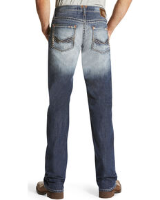 Ariat Men's M5 Davis Mid Rise Jeans - Straight Leg , Indigo, hi-res