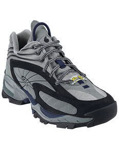 Nautilus Men's Grey SD Athletic Work Shoes - Steel Toe, Grey, hi-res
