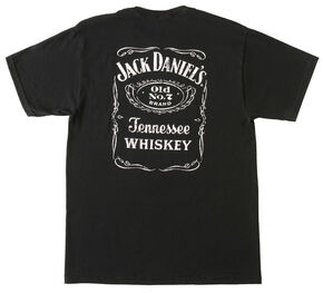 Jack Daniel's Label T-Shirt, Black, hi-res