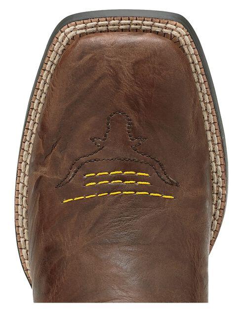 Ariat Boys' Dakota Dogger Cowboy Boots - Square Toe, Brown, hi-res