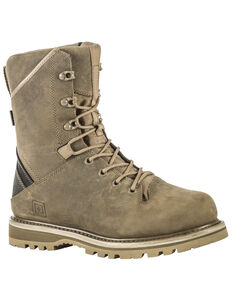 "5.11 Tactical Men's APEX Waterproof 8"" Boots, Dark Coyote, hi-res"