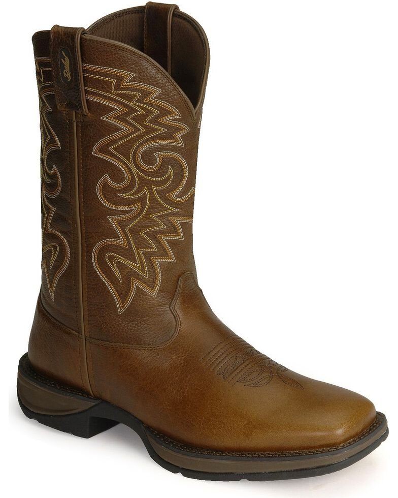 Durango Rebel Men's Pull-On Western Boots - Square Toe, , hi-res
