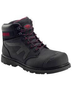 """Avenger Men's 6"""" Puncture Resistant Work Boots - Composite Toe, Black, hi-res"""