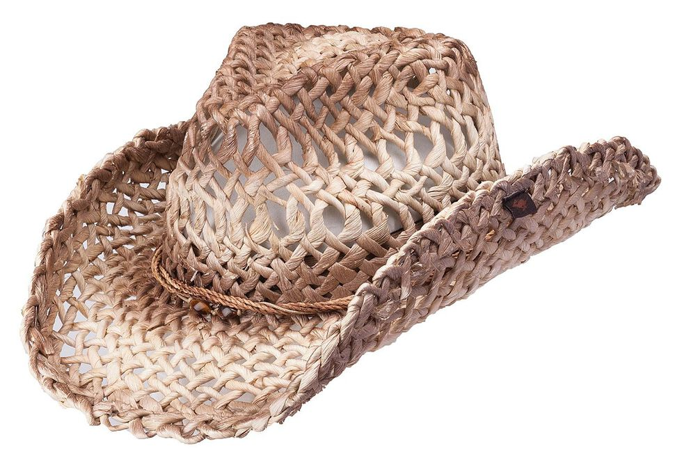 Peter Grimm Ford Natural Straw Cowgirl Hat, Natural, hi-res