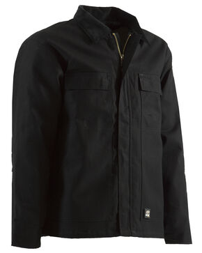 Berne Original Chore Coat - 3XL and 4XL, Black, hi-res