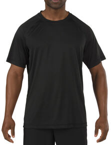 5.11 Tactical Utility PT Shirt - 3XL, Black, hi-res