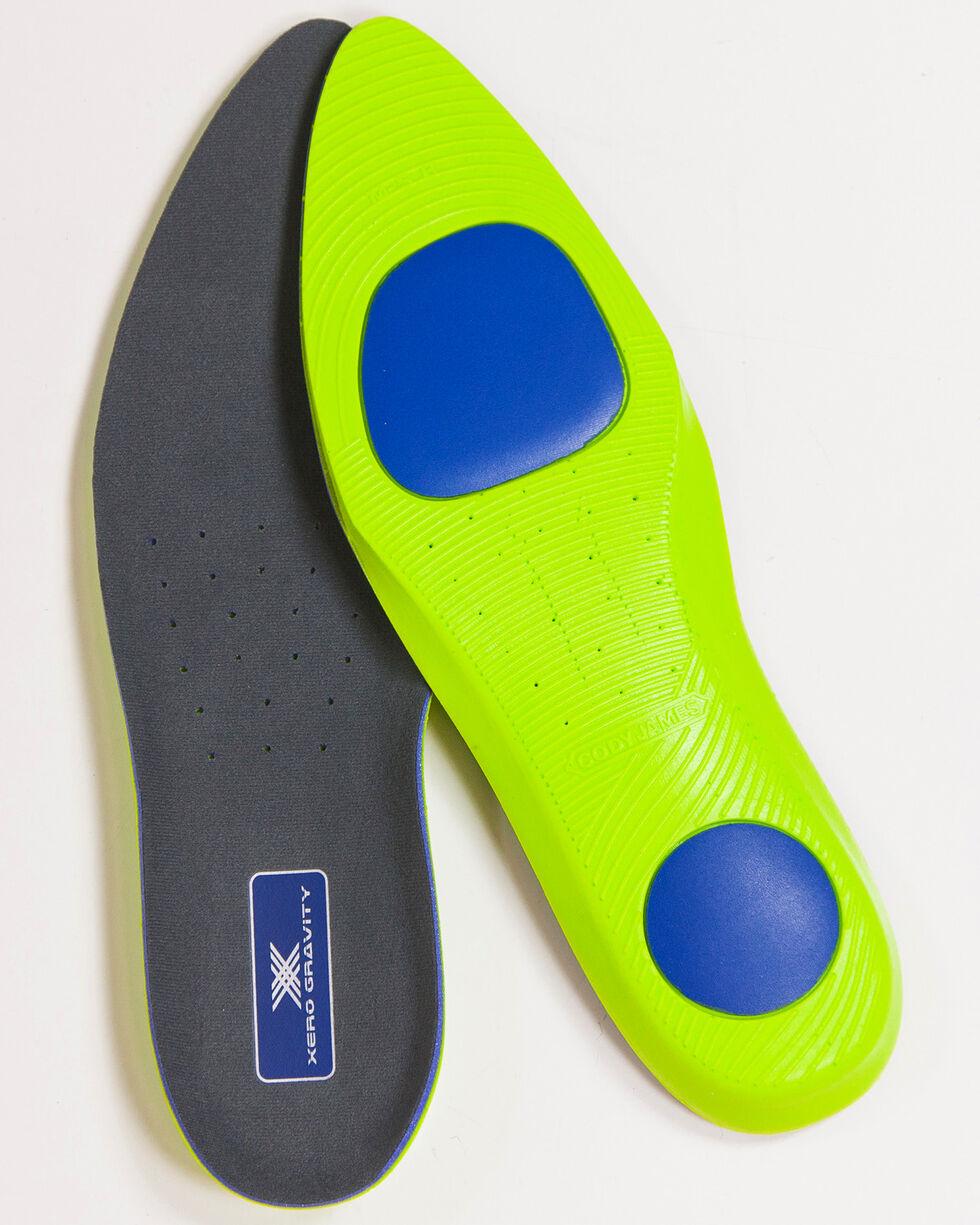 Cody James Men's Round Toe Xero Gravity Comfort Insoles, No Color, hi-res