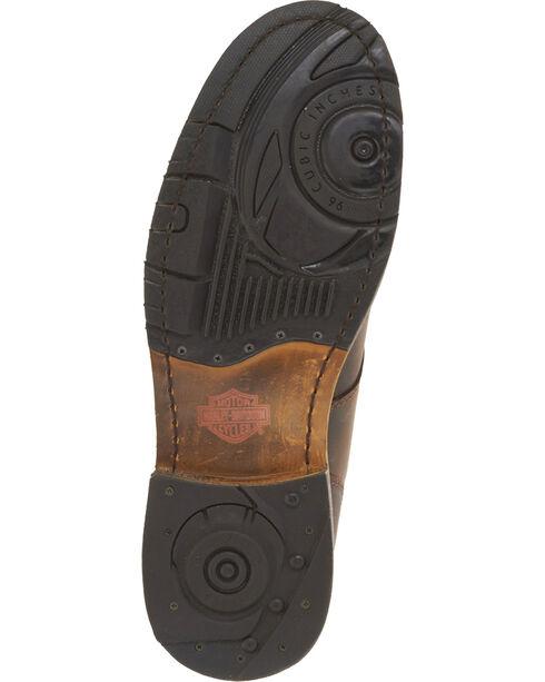 Harley-Davidson Men's Darrol Leather Motorcycle Boots - Round Toe, Brown, hi-res
