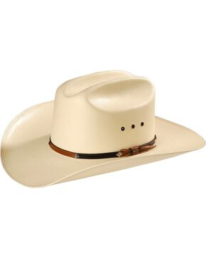 Stetson 10X  Grant Straw Hat, Natural, hi-res