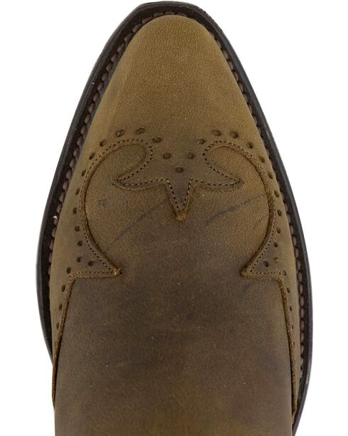 Sage by Abilene Men's Wingtip Harness Cowboy Boots - Medium Toe, Distressed, hi-res