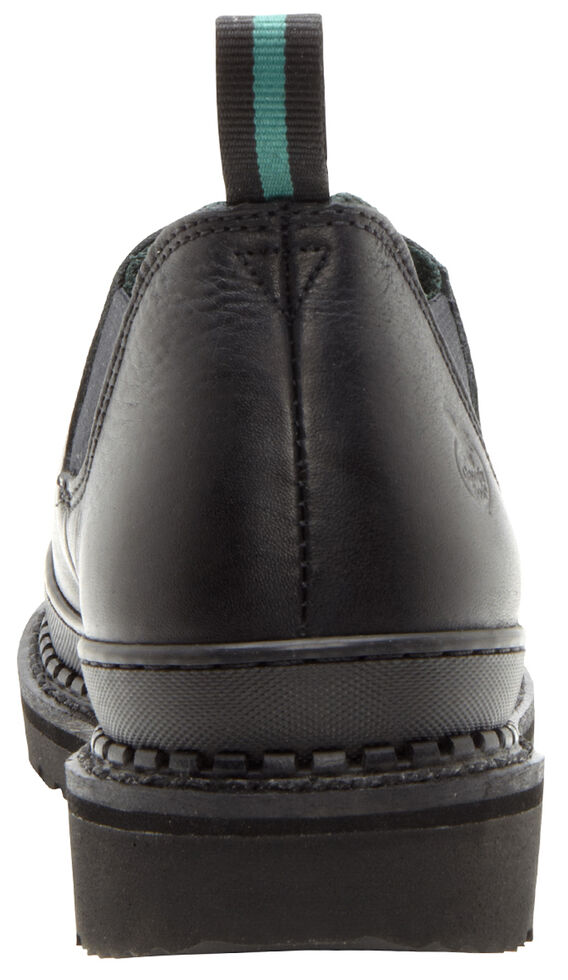 Georgia Boots Women's Giant Romeo Work Shoes, Black, hi-res