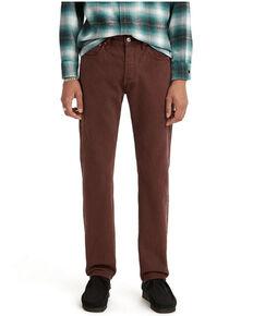 Levi's Men's Mahogany 501 Regular Straight Leg Jeans  , Mahogany, hi-res