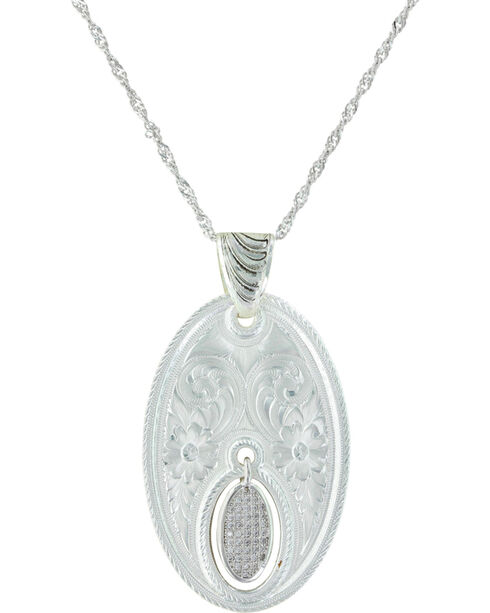 Montana Silversmiths Women's Silver The Fairest One Of All Necklace, Silver, hi-res