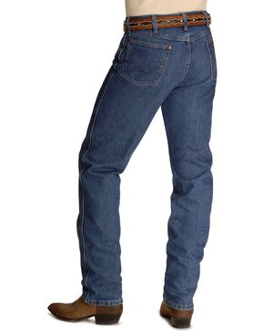 "Wrangler jeans - 31MWZ relaxed fit premium wash in 38"" tall inseam, Stonewash, hi-res"