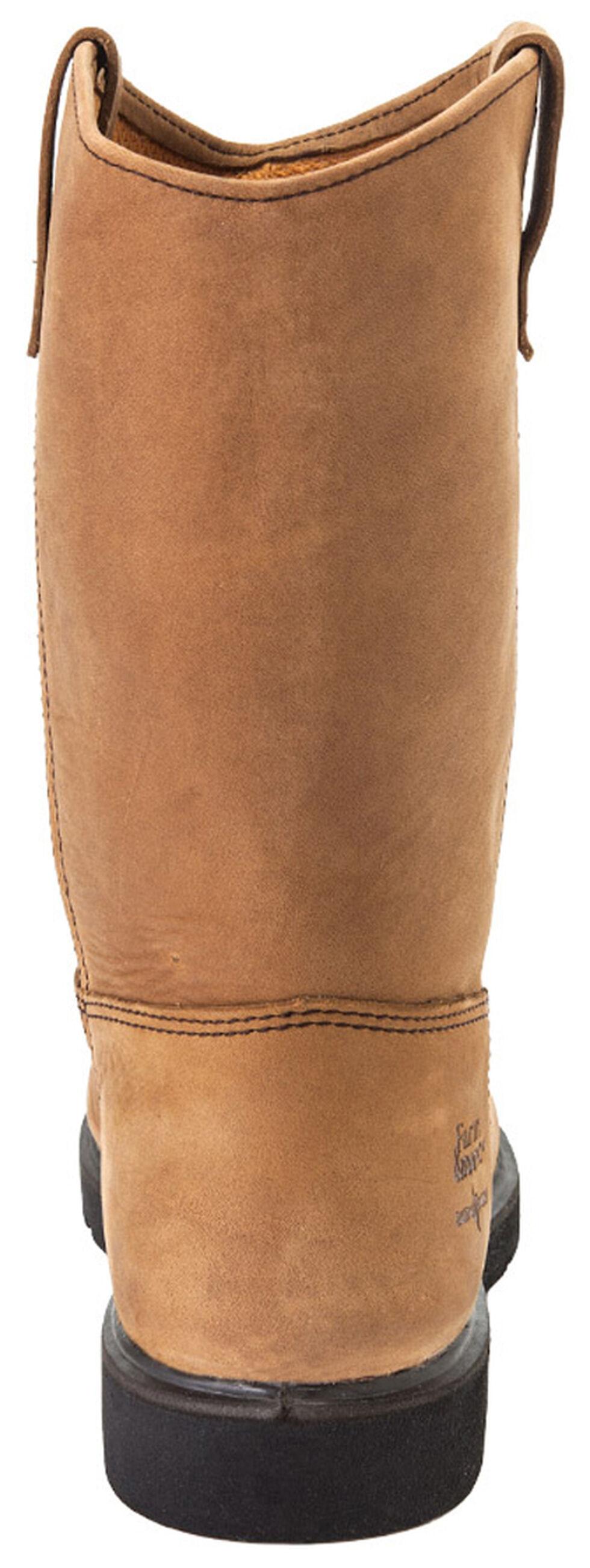 Georgia Farm and Ranch Wellington Boots - Round Toe, Tan, hi-res