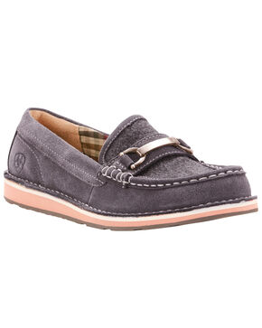 Ariat Women's Ivy Cruiser Loafers, Grey, hi-res