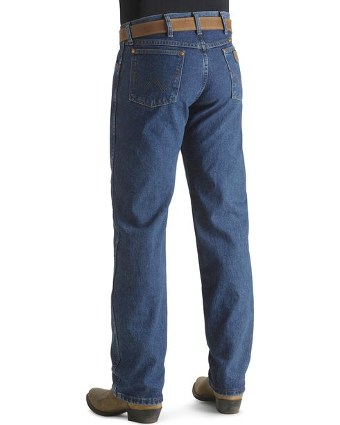 "Wrangler Jeans - 13MWZ Original Fit Premium Wash - 38-40"" Tall Inseam, Stonewash, hi-res"