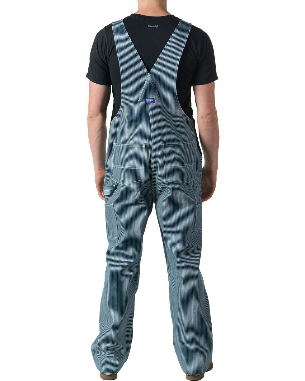 Walls Big Smith Men's Hickory Stripe Bib Overall - Big and Tall, Indigo, hi-res