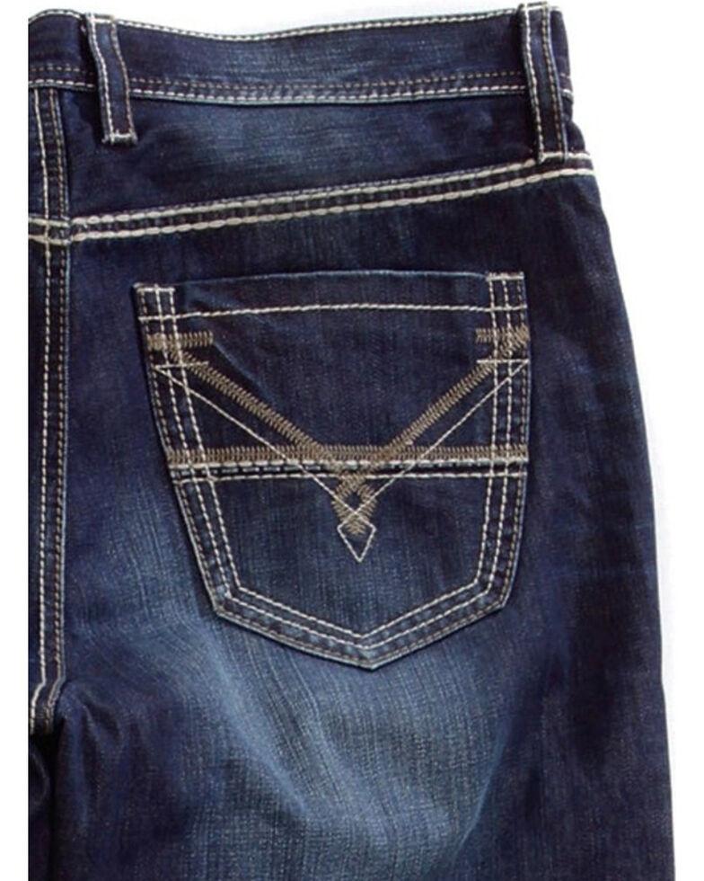 Tin Haul Men's Regular Joe Fit Bootcut Jeans, Blue, hi-res