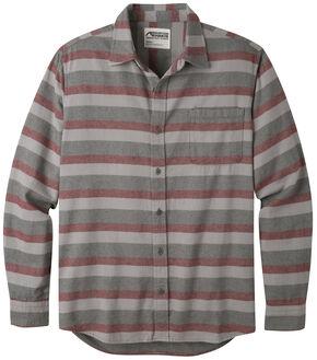 Mountain Khakis Men's Malbec Fall Line Flannel Shirt , Burgundy, hi-res