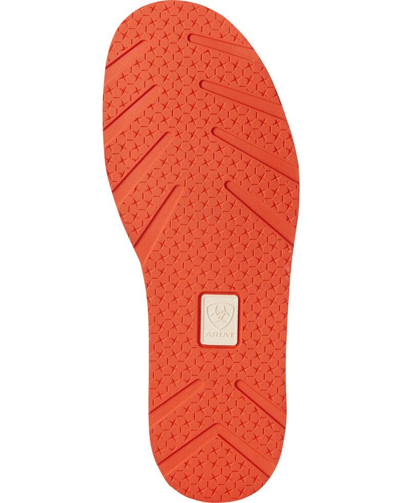 Ariat Women's Chocolate Serape Stripe Cruiser Shoes - Moc Toe, Chocolate, hi-res