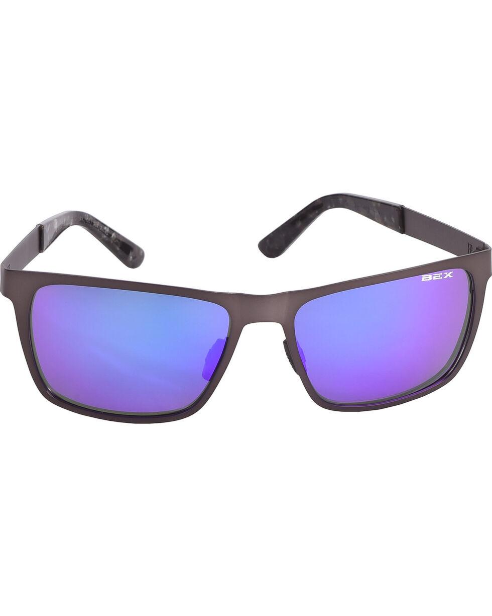 Bex Gunmetal Rockyt Sunglasses , Dark Grey, hi-res