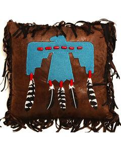 Carstens Thunderbird Pillow, Turquoise, hi-res