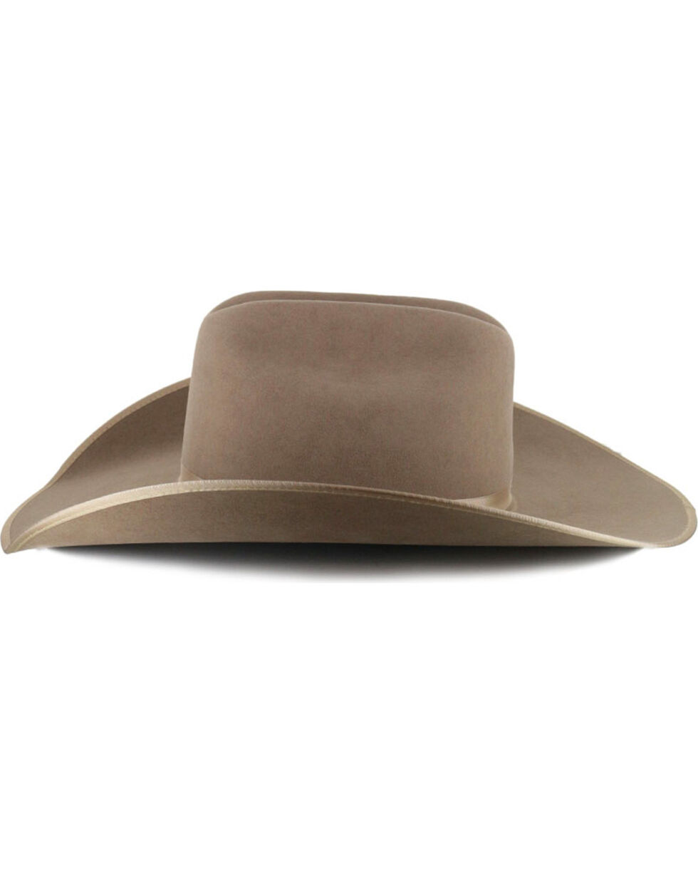 Rodeo King Ash 5X Felt Cowboy Hat, Medium Brown, hi-res