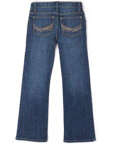 Wrangler 20X Toddler Boys' No. 42 Monroe Dark Vintage Stretch Bootcut Jeans , Blue, hi-res
