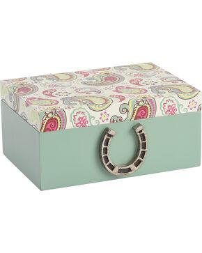 BB Ranch Paisley Trinket Box, No Color, hi-res