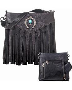 Blazin Roxx Shelby Conceal Carry Shoulder Bag, Black, hi-res