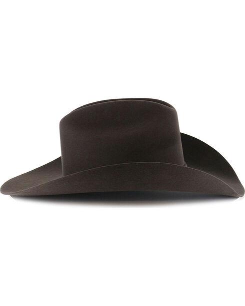 George Strait by Resistol Logan 6X Felt Hat, Charcoal, hi-res