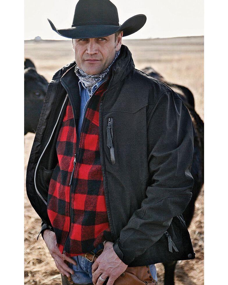 STS Ranchwear Men's Young Gun Black Jacket - Big & Tall , Black, hi-res
