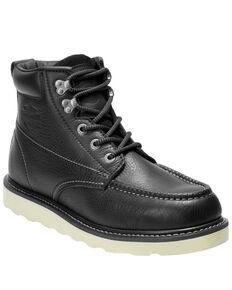 Harley Davidson Men's Bosworth Work Boots - Moc Toe, Black, hi-res
